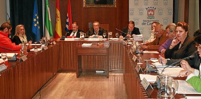 Pleno del Ayuntamiento de Cartaya.