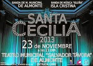 Cartel de Santa Cecilia.