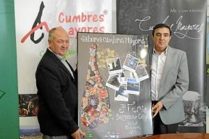 Presentación de la Feria Gastronómica de Cumbres Mayores.