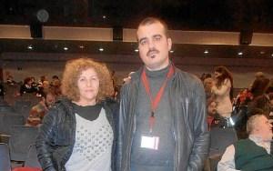 Rosario González y Daniel Hernando.
