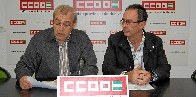 Rueda de prensa de CCOO.
