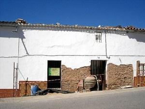 Vivienda en rehabilitación en la Sierra de Huelva.
