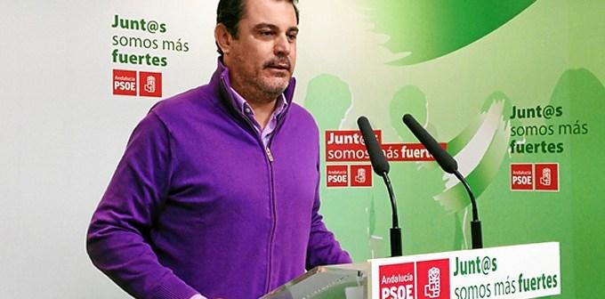 Imagen de archivo de Ferrera en la anterior sede del PSOE en Huelva.