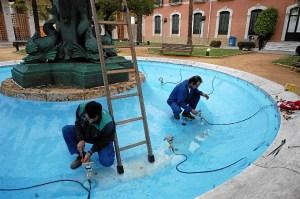 La Casa Colón de Huelva ultima los preparativos para el Festival de Cine Iberoamericano. (Antonio Luis Delgado)
