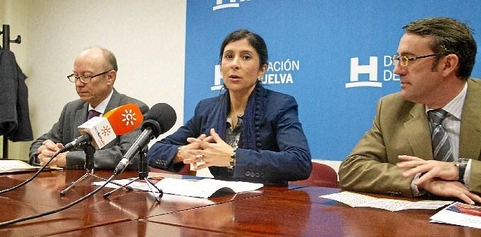Presentación de la iniciativa en la Diputación.