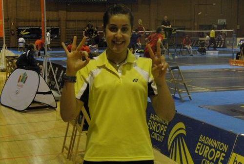 Carolina Marín, ganadora del Internacional de Italia.