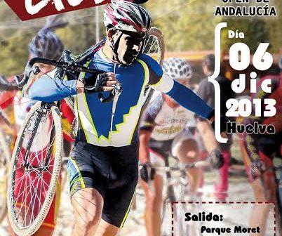 Cartel Open de Ciclocross en el Parque Moret.