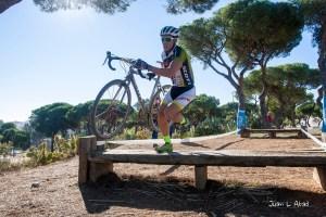Ciclocross en el Parque Moret.