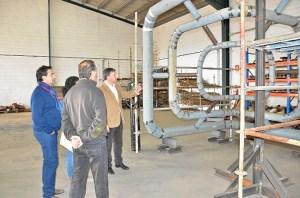 Finaliza el curso de tubero industrial en Palos.