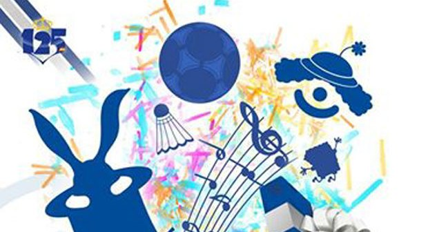 Cartel de la Gala Infantil del Recreativo de Huelva.
