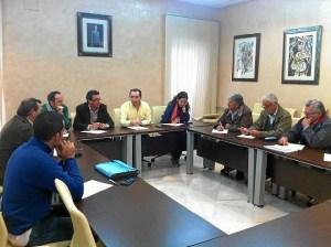 Reunión en Almonte con ganaderos afectados.