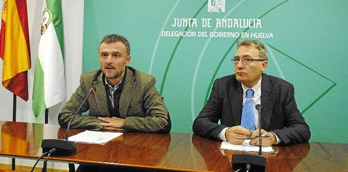 Fiscal y Marín, en rueda de prensa.