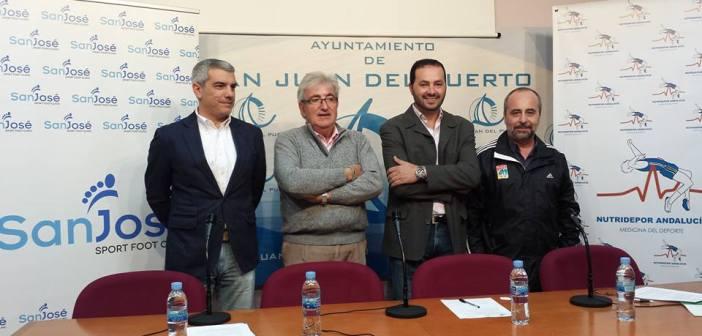 Convenio entre el Ampesa San Juan y Nutridepor Andalucía.