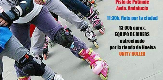 Cartel de Huelva se mueve en patines.