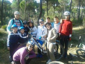 Escuela Ciclista 'El Valle' de Hinojos.
