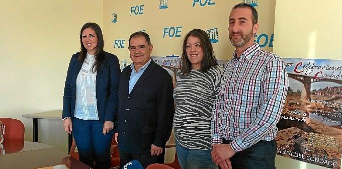 Presentación de Expo Celebraciones en la sede de la FOE.