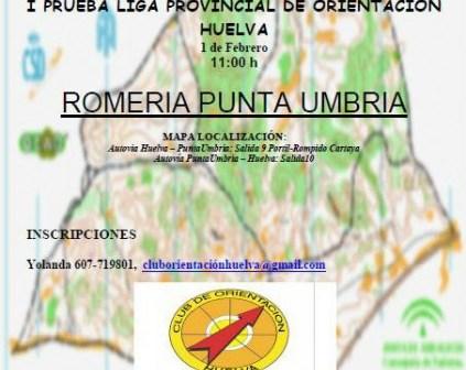 Liga de Orientación de Huelva.