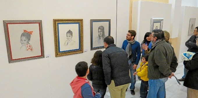 muestra de retratos