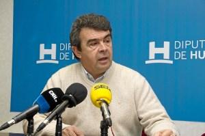 José Martín, en rueda de prensa.