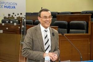 Ignacio Caraballo en la rueda de prensa de este martes.