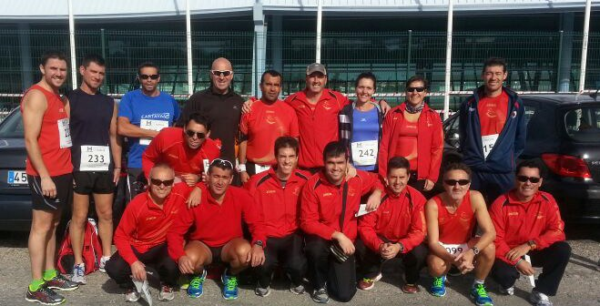 Club de Atletismo de Cartaya.