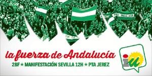 Cartel manifestacion 28F 2014 IU