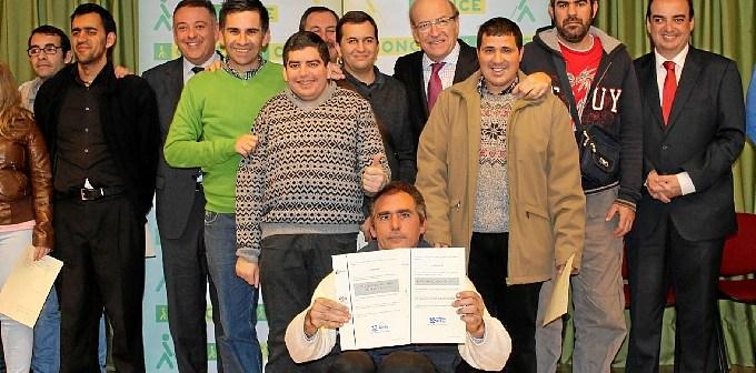 Entrega diplomas cursos FEAPS-Ayto Once (3)