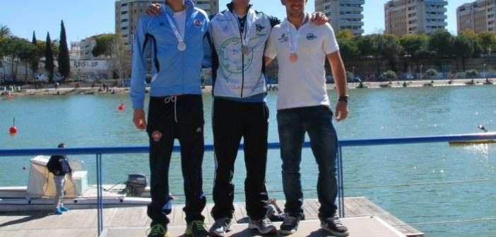 Club Abdeul en el Campeonato de Andalucía de piragüismo.