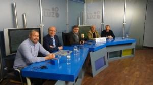 El alcalde de Huelva, Pedro Rodríguez, en la tertulia de Antena Huelva Radio.