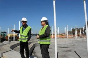 Arquitecto obras y Pta Puerto Huelva en el Paseo de la Ria
