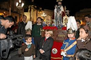 flashmob cofrade en Huelva