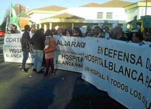 Protesta Pascual Blanca Paloma-408