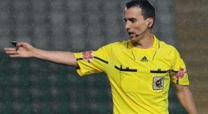 Jaime Latre, árbitro del Recreativo-Castilla.