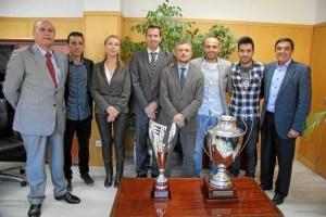 Recepción en la Junta de Andalucía al CD Sordos de Huelva.