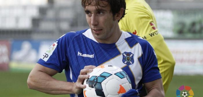 Raúl Cámara, futbolista del Tenerife y ex del Recreativo de Huelva.