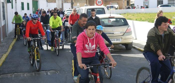 Fiesta de la Bicicleta en San Juan del Puerto.