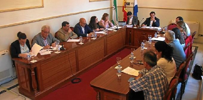 Imagen de archivo de una sesión plenaria en San Juan del Puerto.