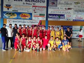 Torneo Primavera de baloncesto en La Palma del Condado