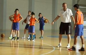 Clinic baloncesto en Palos de La Frontera.