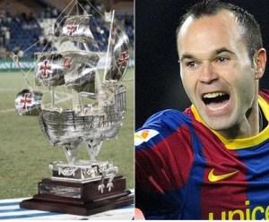 FC Barcelona en el 50 Trofeo Colombino.