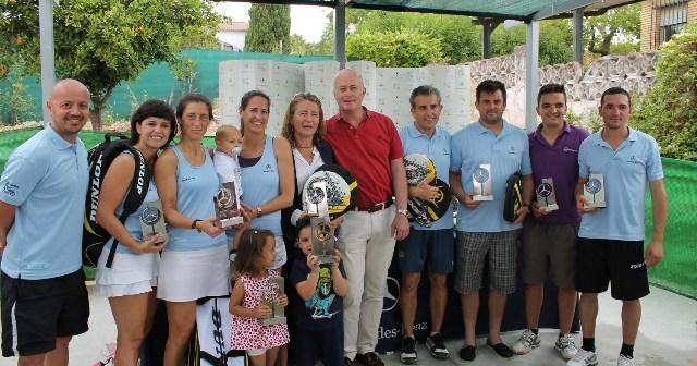 Campeones del Torneo Adarsa Sur de pádel.