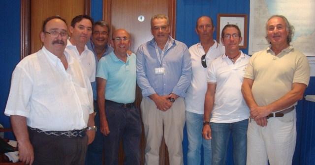 Miembros de la Asociación Deportiva ADEMAR de Mazagón.