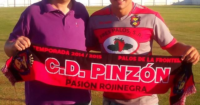 Cata, nuevo futbolista rumano del CD Pinzón.