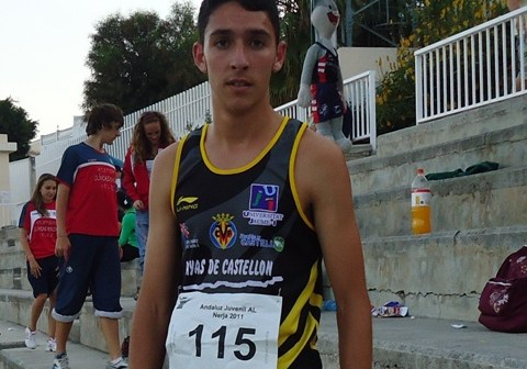 Daniel Ramos, atleta onubense.