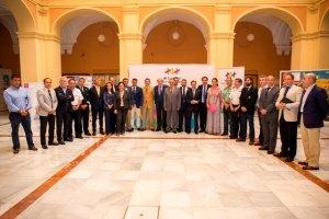 Delegación Onubense de los Juegos Europeos de Policías y Bomberos en Huelva.
