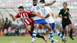 Partido de pretemporada entre el Sunderland y el Recreativo de Huelva.