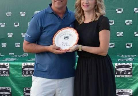 Carlos Ortega, ganador del Torneo Onda Cero de golf.