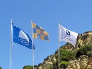 bandera azul y q de calidad