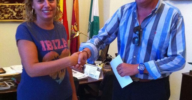 Convenio del Ayuntamiento de Trigueros con el CD Trigueros Balompié.