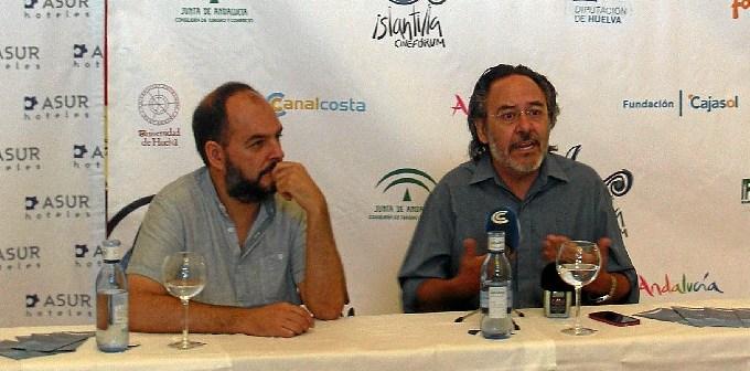 2014 08 30  Santiago Ramos, Premio 'Luis Ciges' en el Festival de Islantilla